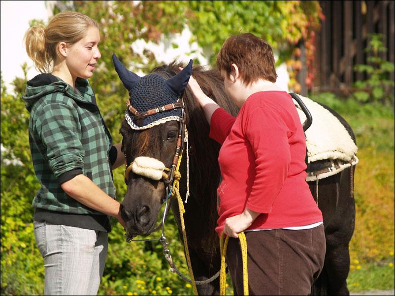 glaesir reittherapie Pferde als Therapeuten   ein erfolgreiches Konzept