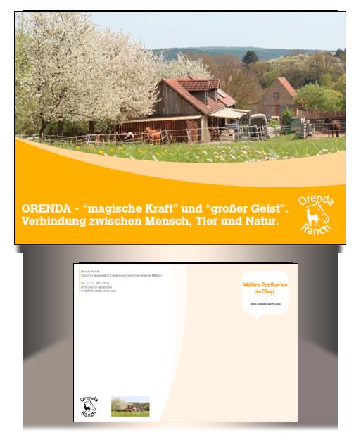 Orenda-Ranch Postkarte