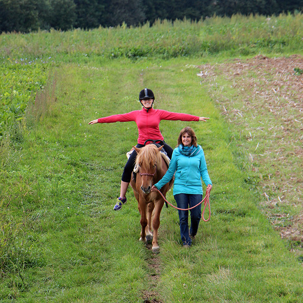 Reittherapie in der Natur