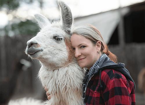 Lisa Schell, Mitarbeiterin Orenda-Ranch