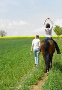 Reittherapie auf der Orenda-Ranch